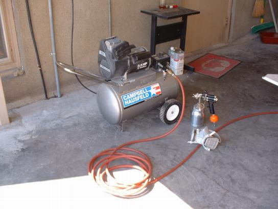 How To Use A Spray Paint Gun For Air Compressor