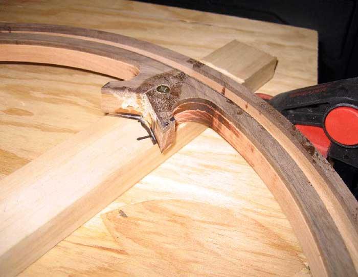 Diy Wood Steering Wheel Part 3 Machining The Halves