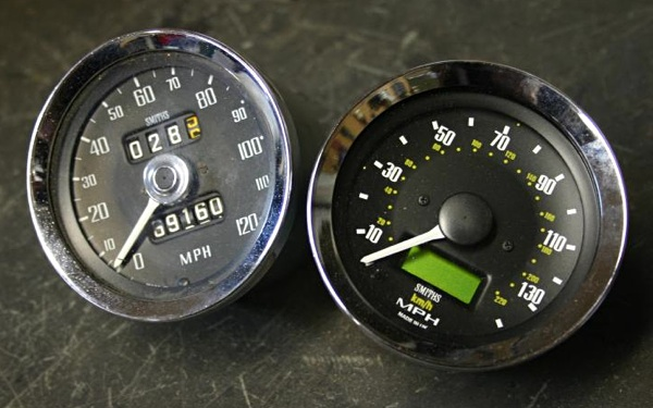 Smiths Speedometer Mechanical Electronic