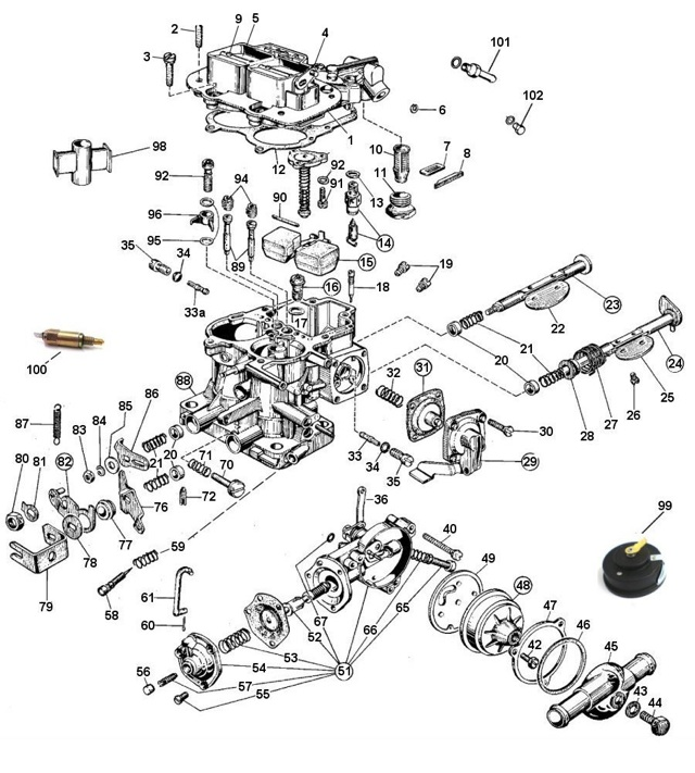3236dgev on mikuni carburetor linkage diagram