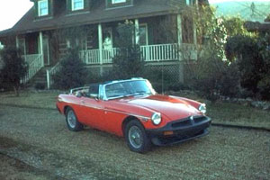Tony Barnhill's Vermillion Red 1979 MGB