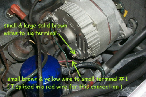 delco alternator conversion how to library the mg. Black Bedroom Furniture Sets. Home Design Ideas