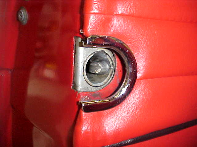 Pull Handle MGB Door details