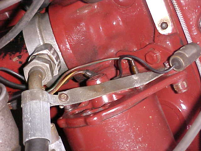 Early MGB Oil Cooler Hose Stabilizer