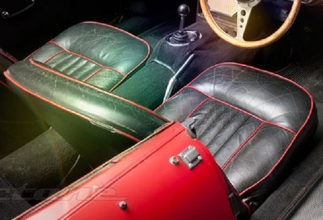Early MGB Seat Bottom