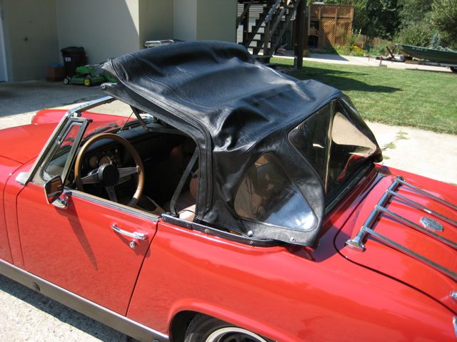 Convertible mg midget top DelLuz