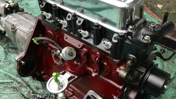 74 mg midget gearbox rebuild - YouTube