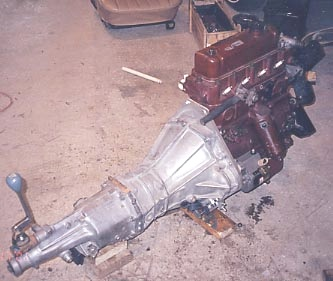Magnette ZB Engine and Transmission Swap : How-To Library : The MG