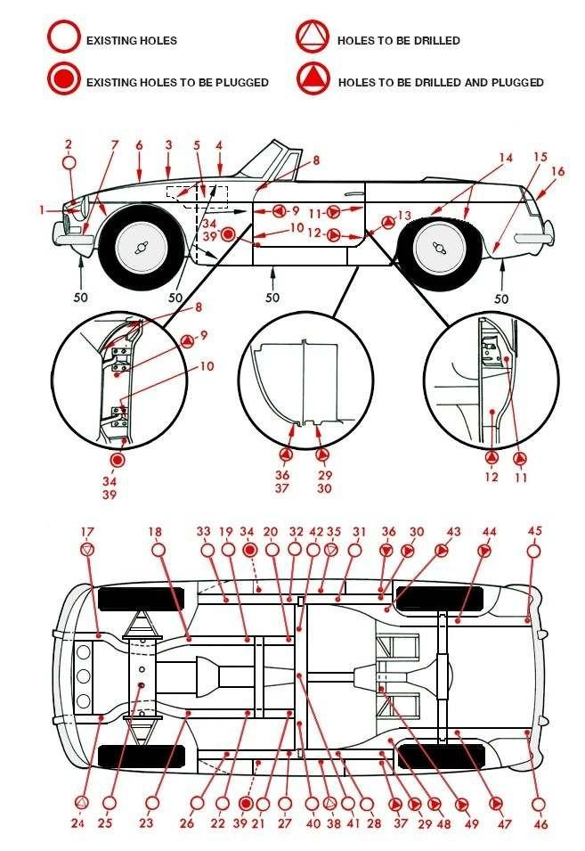 Rust Proofing The Mgb Roadster How To Library The Mg