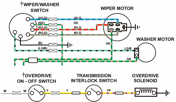 1978 Mgb Wiper Wiring Diagram