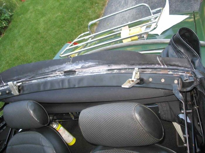 Mgb Soft Top Hood Replacement How To Library The Mg