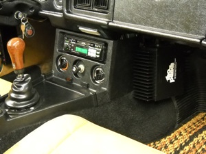 Car stereomg midget found