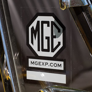 MGExp Static Cling Window Decal