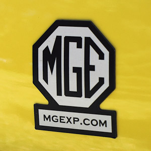 MGExp Magnetic Bumper Sticker