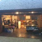 Nice new garage to work in