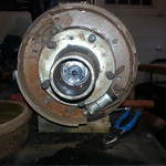Rear brakes other than surface rust from sitting
