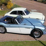 MGC GT Austin Healey 5th April 2015 004