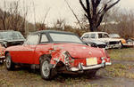 1969 MGB salvage Nov 12 1983