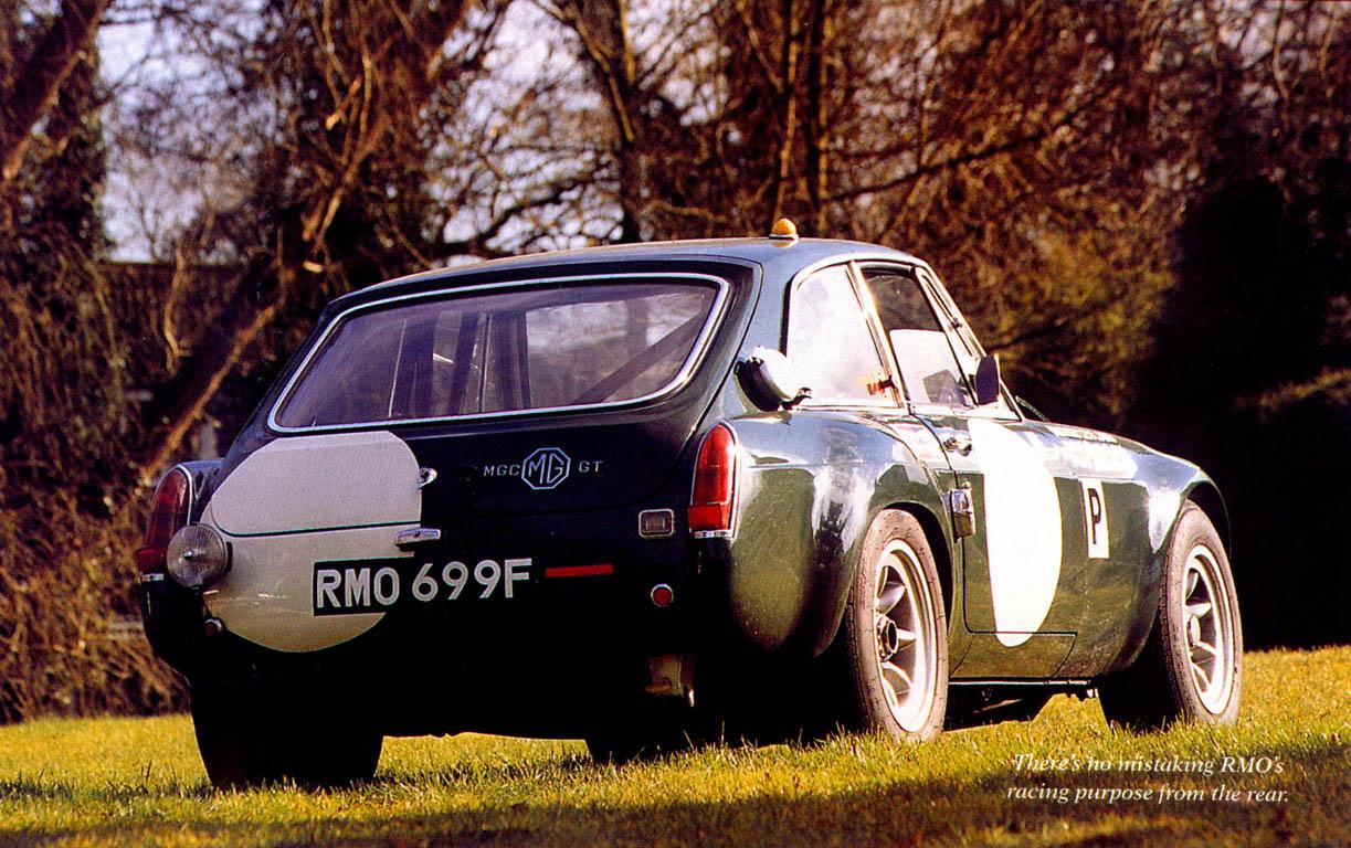 Historic Racing Car: RMO699F : The MG Experience