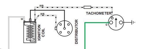 tacho_Cct surprising mgb tach wiring diagram photos best image diagram yamaha digital tach wiring diagram at edmiracle.co