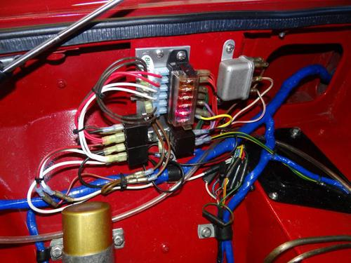 You Diodes and relays for mg midget that can