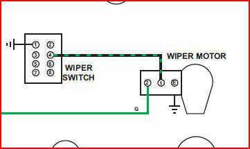 wiper motor wiring diagram mgb wiring diagrams mgb wiper motor wiring diagram