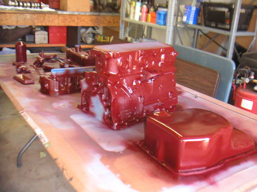 RM MG Maroon Engine Paint Code # (Page 2) : MGB & GT Forum