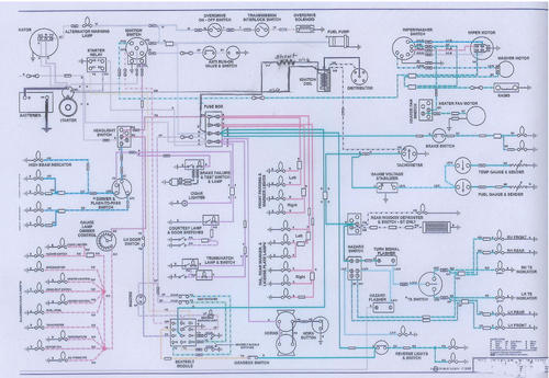 74.5 WIRING DIAGRAM : MGB & GT Forum : MG Experience Forums : The MG  ExperienceThe MG Experience