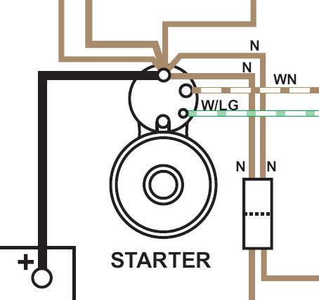 1977 new starter wiring help  mgb  u0026 gt forum mg isuzu npr wiring-diagram