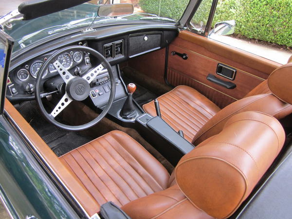 Autumn Leaf Interior Pics Please Page 2 Mgb Amp Gt