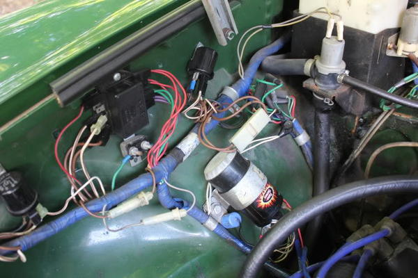 mgb fuse box wires circuit wiring and diagram hub \u2022 mgb gt fuse box diagram at Mgb Fuse Box Location
