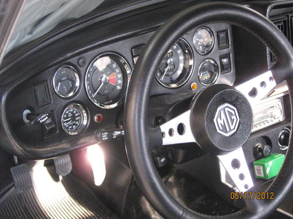 New Speedometer Cable MGB 1977-1980 With Overdrive