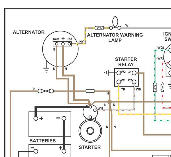 how to test an alternator : mgb & gt forum : mg experience forums : the mg  experience  the mg experience