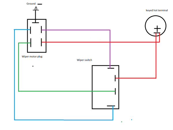 Wiring A Wiper Motor - Diagram Schematic Ideas on