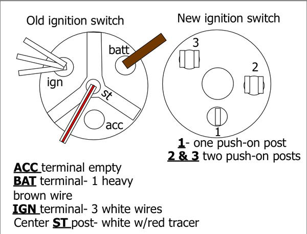 ignition_switch need help installing new ignition switch, different and dpo'd ignition switch wiring diagram at readyjetset.co