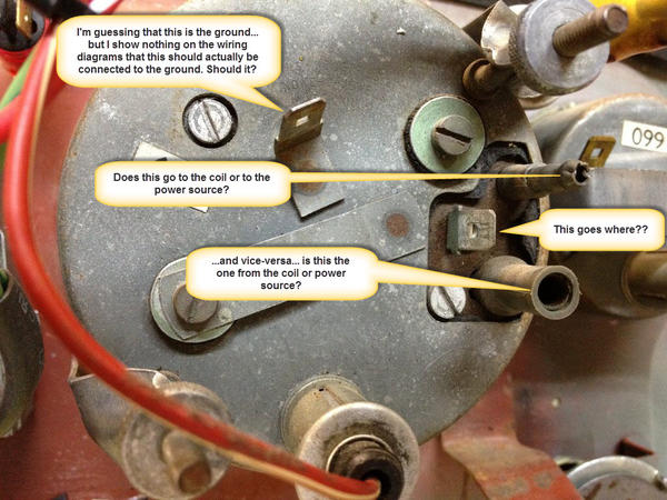 Need Help Wiring Tachometer : MGB & GT Forum : MG Experience Forums : The MG  ExperienceThe MG Experience
