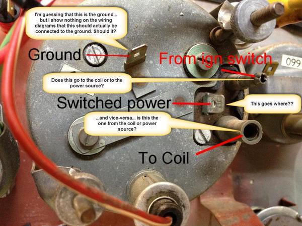 Need Help Wiring Tachometer   Mgb  U0026 Gt Forum   Mg