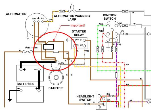 wiring a ammeter help page 3 mgb gt forum mg experience rh mgexp com Voltage Regulator Wiring Diagram Voltage Regulator Wiring Diagram