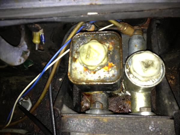 1979 brake cylinder master mg midget you were