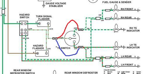 turn signals and hazard not working mgb gt forum mg turn signal1 jpg