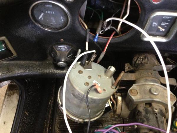 mgb tach wiring wiring diagram u2022 rh tinyforge co mgb tach wiring diagram 67 mgb tach wiring