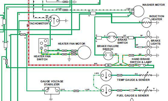 78_voltage_stabilizer temp gauge wiring mgb & gt forum mg experience forums the mg 1972 mg midget wiring diagram at couponss.co