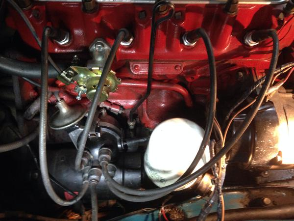 image distributor and spark plug wires installed right mgb & gt forum 1980 mgb distributor wiring at edmiracle.co