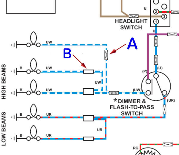 electrical symbol identification mgb \u0026 gt forum mg experience Geo Wiring Diagram Symbols