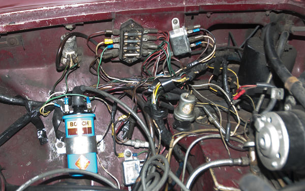 Ouch on Mgb Fuse Box Wiring
