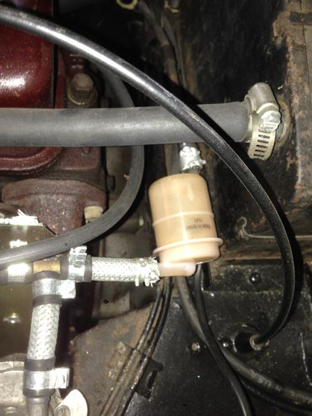 Fuel filter placement : MGB & GT Forum : MG Experience Forums : The MG  ExperienceThe MG Experience