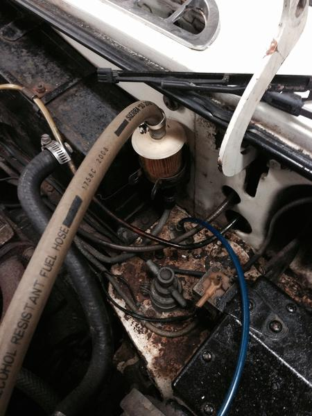 77b fuel filter location & cut off valve mgb & gt forum kia fuel filter location mg fuel filter location #11