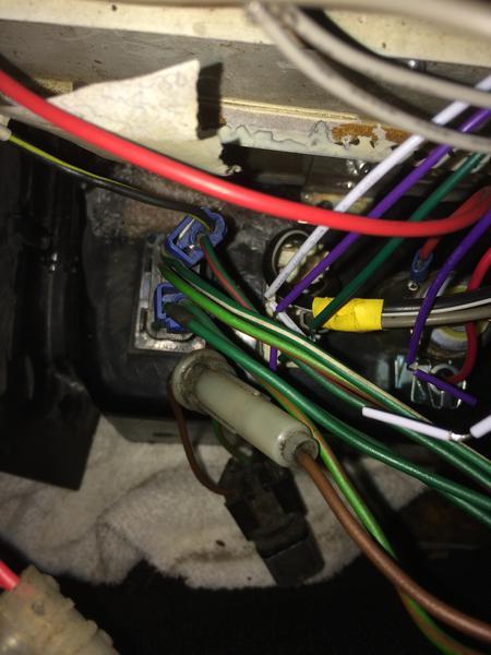 Radio Console Wiring Loom Mgb Gt 1975   Mgb  U0026 Gt Forum