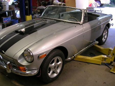 Racing stripes : MGB & GT Forum : MG Experience Forums : The