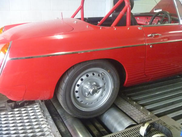 Hilton Head Toyota >> thinking i like the steel wheels on early mgb's - are they ...